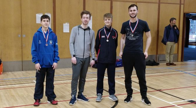 West Midlands Region Fencing Senior Championships 2018